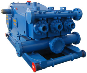 500 HP triplex mud pump
