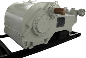 PZ-9 1000 HP triplex mud pump