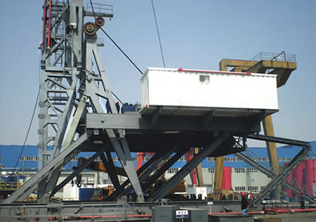 Swing-lift Substructure